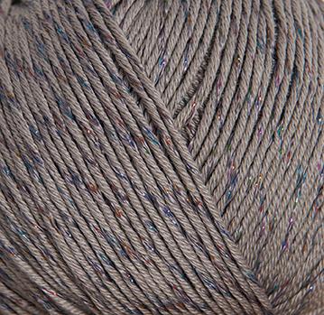 Rico Cotton Glitz Farbe 11 grau 78 /% Baumwolle 19/% Viskose 3/% Polyester 50g
