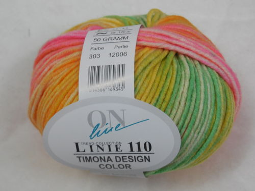ON line Linie 110 Timona design color