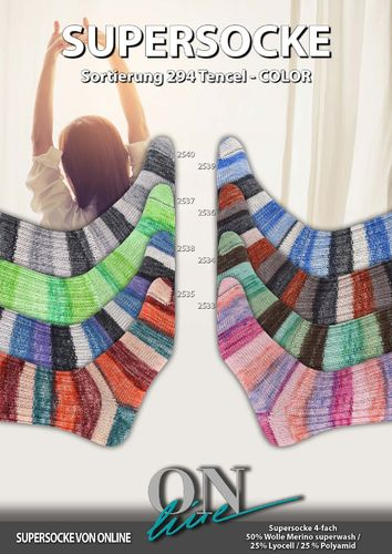 Online supersocke Tencel Color 294