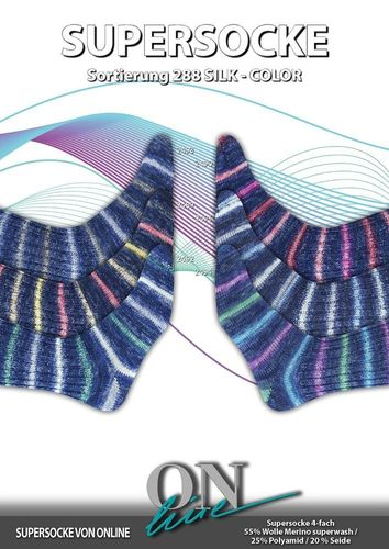 ONline Supersocke Silk Color 288