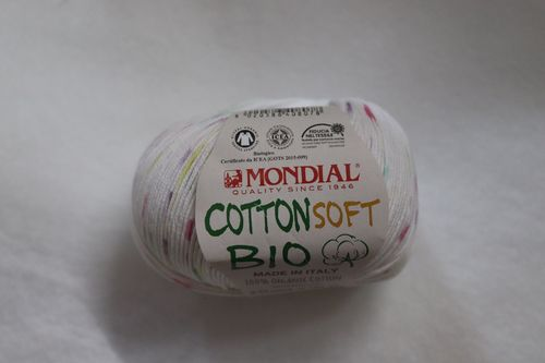Mondial Cotton Soft Bio Stampe